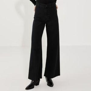 Zara Premium HighWaisted Marine Straight Jeans S 6